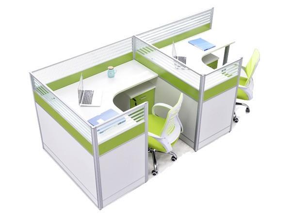 办公室L型卡座