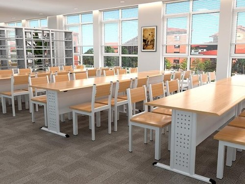 图书馆阅览桌设计需要满足哪些条件?_广西图书馆阅览桌哪家厂家好