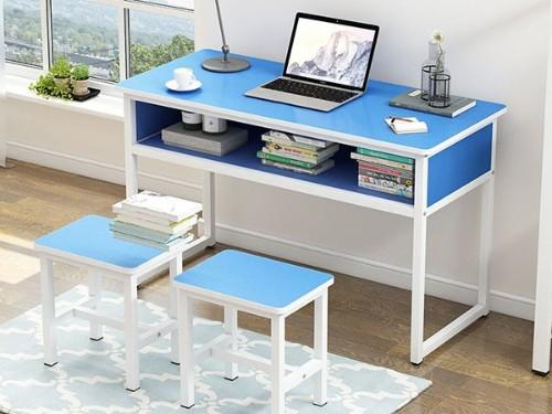 【直播】怎样的双人学生课桌椅使用寿命长?广西哪家厂家双人课桌椅好