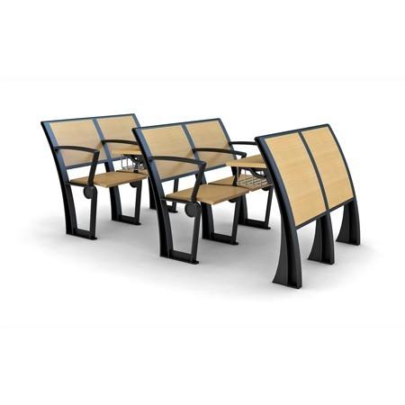 教室课桌排椅1