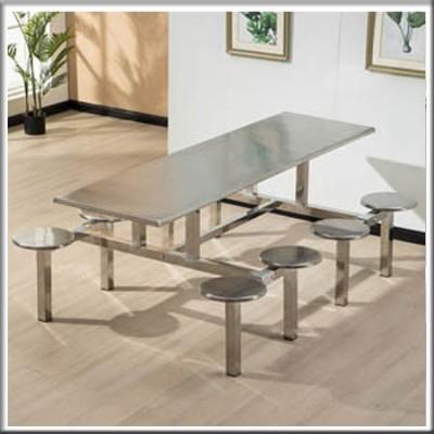 不锈钢八人餐桌213