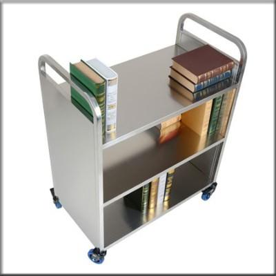 不锈钢书车305
