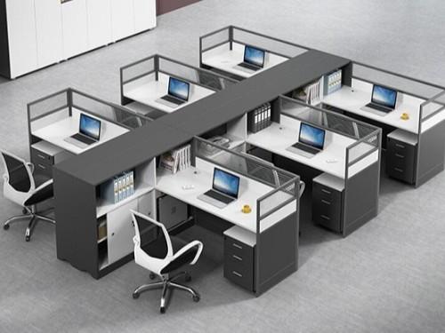 屏风卡座办公桌怎么样?如何挖掘屏风卡座的自身优点
