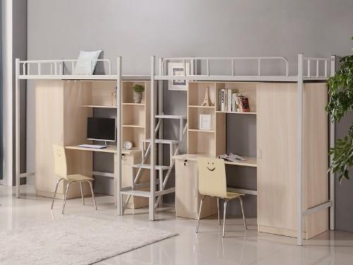 """暑假是家具人的""""工期,学校公寓铁架床进去全线生产状态"""