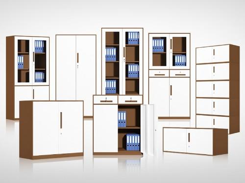 钢制文件柜颜色多样,环境占主要位置