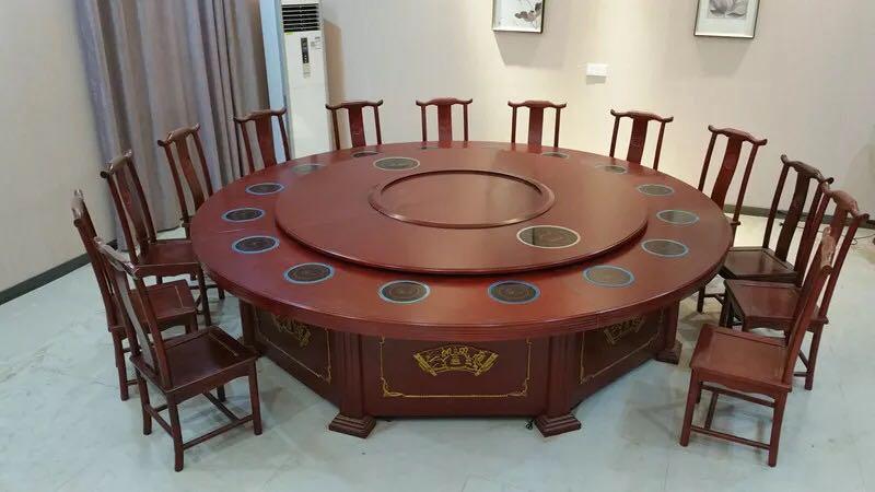 酒店餐桌02