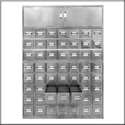 不锈钢中药柜2144