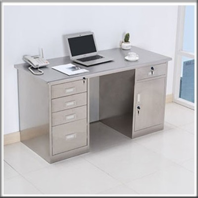 不锈钢电脑桌124