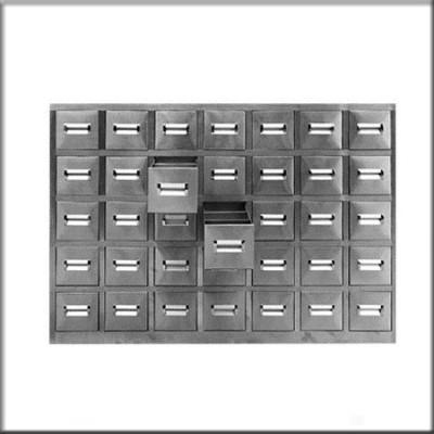 不锈钢中药柜2147