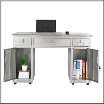 不锈钢电脑桌126