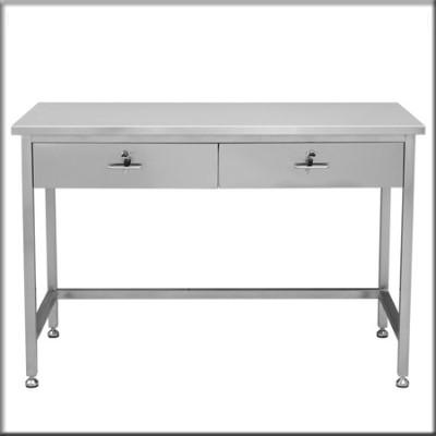 不锈钢电脑桌128