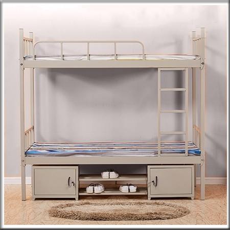 上下铁架床含床下柜