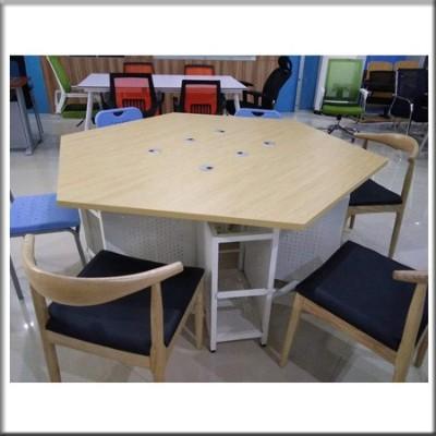 六边行桌子01
