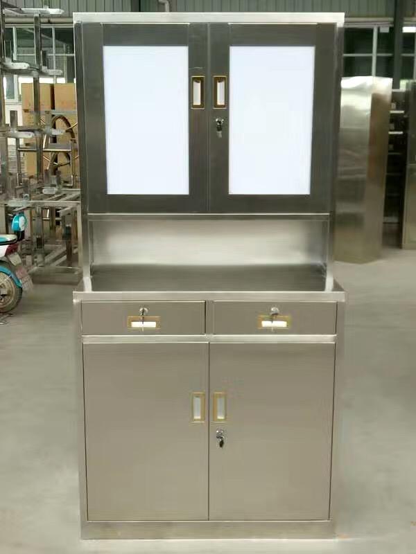 不锈钢药品柜2