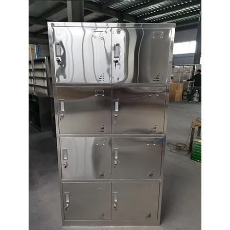 不锈钢八门更衣柜