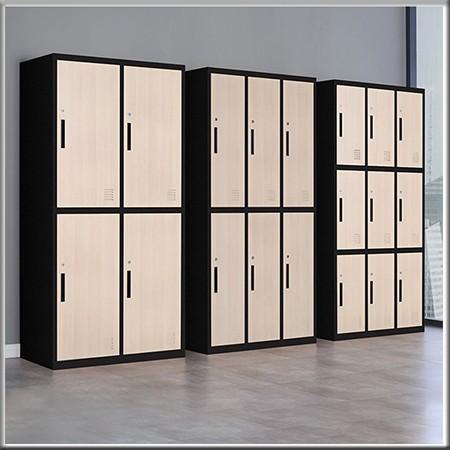 木纹更衣柜-01